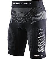 X-Bionic Twyce - Kurze Laufhose - Herren, Black/Grey