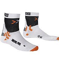 X-Socks Biking Pro - Radsocken, White/Black