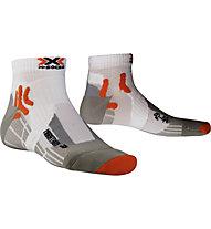 X-Socks Marathon Short - calzini running, White