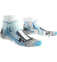 X-Socks Marathon Energy - Laufsocken - Damen, White/Blue