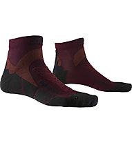 X-Socks Run Discovery - calzini running, Red/Black