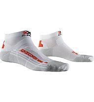 X-Socks Run Discovery - calzini running - donna, White/Grey