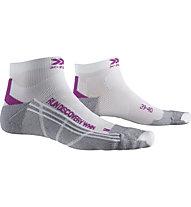 X-Socks Run Discovery - Laufsocken - Damen, White/Grey/Purple