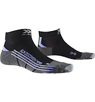 X-Socks Run Discovery - Laufsocken - Damen, Black/Grey