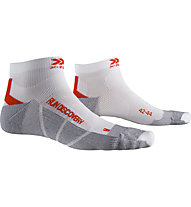 X-Socks Run Discovery - Laufsocken - Herren, White/Grey