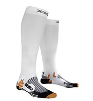 X-Socks Run Energizer - calzini lunghi running, White