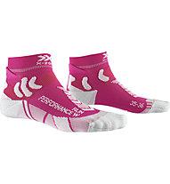 X-Socks Run Performance - calzini running - donna, Pink/Grey