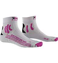 X-Socks Run Speed One - Laufsocken - Damen, Grey/Pink