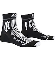 X-Socks Run Speed One - Laufsocken - Herren, Black/White