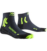 X-Socks Run Speed One - Laufsocken - Herren, Black/Green