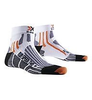 X-Socks Run Speed Two - calzini running, White/Black
