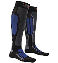 X-Socks Ski Carving Pro Calze da Sci, Black/Cobald Blue