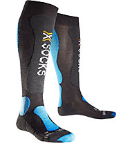 X-Socks Ski Comfort Skisocken, Anthracite/Azurre