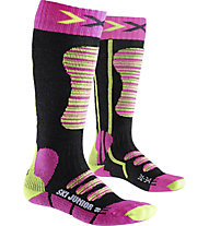 X-Socks Ski Junior - Skisocken - Kinder, Pink/Yellow