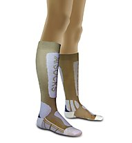X-Socks Ski Metal W's, Gold/White