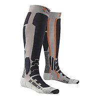X-Socks Ski Radiactor Skisocken, Silver/Anthracite
