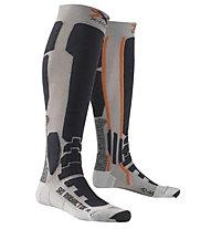 X-Socks Ski Radiactor - calze da sci, Silver/Anthracite