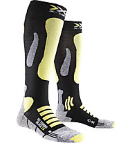 X-Socks Ski Touring Silver 2.0 - Skisocken, Black/Yellow