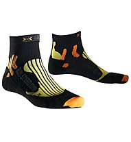X-Socks Speed One - Calzini corti running - uomo, Black