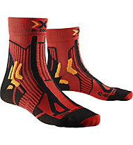 X-Socks Trail Run Energy - calzini running, Red/Black/Orange