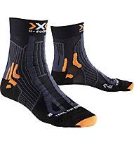 X-Socks Trail Run Energy Man - Laufsocken - Herren, Black/Grey