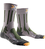 X-Socks Trekking Light - Wandersocken, Grey/Green