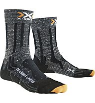 X-Socks Light Limited Calzini lunghi Trekking, Grey/Black