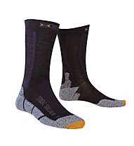 X-Socks Trekking Silver - socken, Black/Anthracite