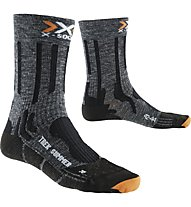 X-Socks Trekking Summer Funktionssocken, Grey/Black