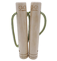 yy vertical Twins Cylinder 33mm - Klettertrainingszubehör, Brown