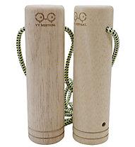yy vertical Twins Cylinder 55mm - accessorio per allenamento arrampicata, Brown