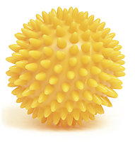 Yogistar Spiky - palla da massaggio fitness, Yellow
