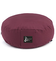 Yogistar Meditation - Meditationskissen, Dark Red
