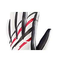 Zanier Illusion - Skihandschuh, White/Red