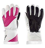 Zanier Lech.stx - guanti da sci - donna, Pink/White