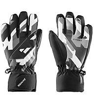 Zanier Mellau.GTX - guanti da sci - ragazzo, Black/White