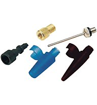 Zefal Inflator Kit AIR SET - Adapter Set, Black/Blue
