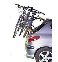 ZEG Hecktrager für bis zu 3 Fahrräder, Titan