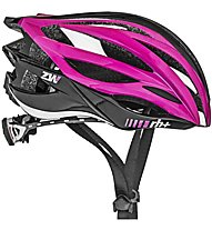 rh+ ZW Bike - casco bici, Black/Pink