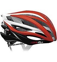 rh+ ZW Bike - casco bici, Red/White