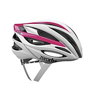 Zero Rh+ ZW Woman - Casco bici, Shiny White/Shiny Pink