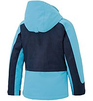 Ziener Giacca sci bambino Adora, Blue/Aqua