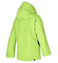 Ziener Afelix - Skijacke - Kinder, Green/Orange