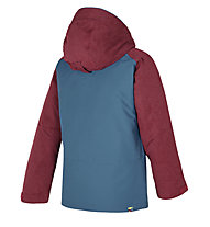 Ziener Afelix - Skijacke - Kinder, Blue/Dark Red
