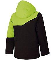 Ziener Agnolo - giacca da sci - bambino, Black Stru