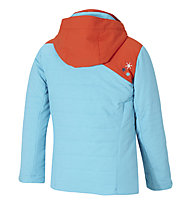 Ziener Aiza - Skijacke - Kinder, Light Blue/Orange