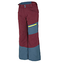 Ziener Ayules - Skihose - Kinder, Blue/Dark Red