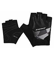 Ziener Cenoli - guanti da ciclismo - bambini, Black