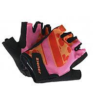 Ziener Cielle - Fahrradhandschuhe - Mädchen, Pink/Black