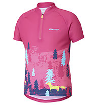 Ziener Ciri - maglia da bici - bambina, Pink